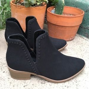 Cut-Out Booties